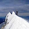 Jaz on the summit