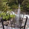 Architect Creek swing bridge.