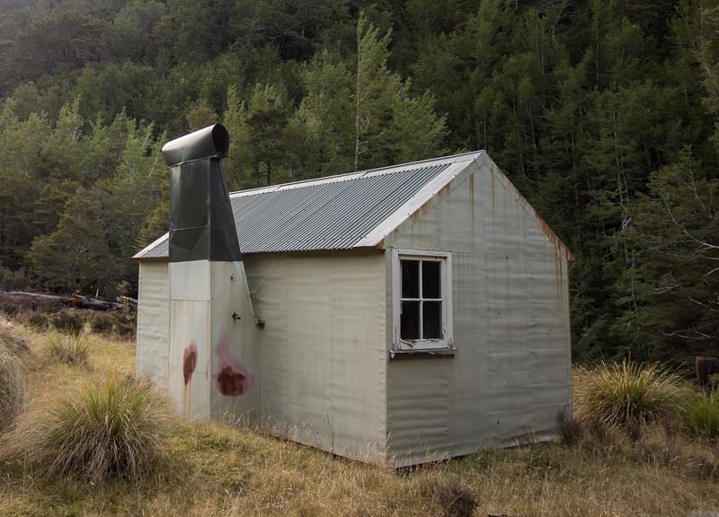Wheel Creek Hut.