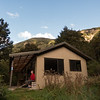 Trevor Carter Hut - our home for two nights.
