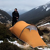 Camp on Devilskin Saddle.
