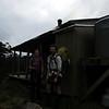 Silvia and James at Nina Hut.