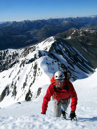 Duessa Peak, Spenser Mountains, 22-24 October 2011