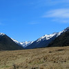 Looking up the Waiau.