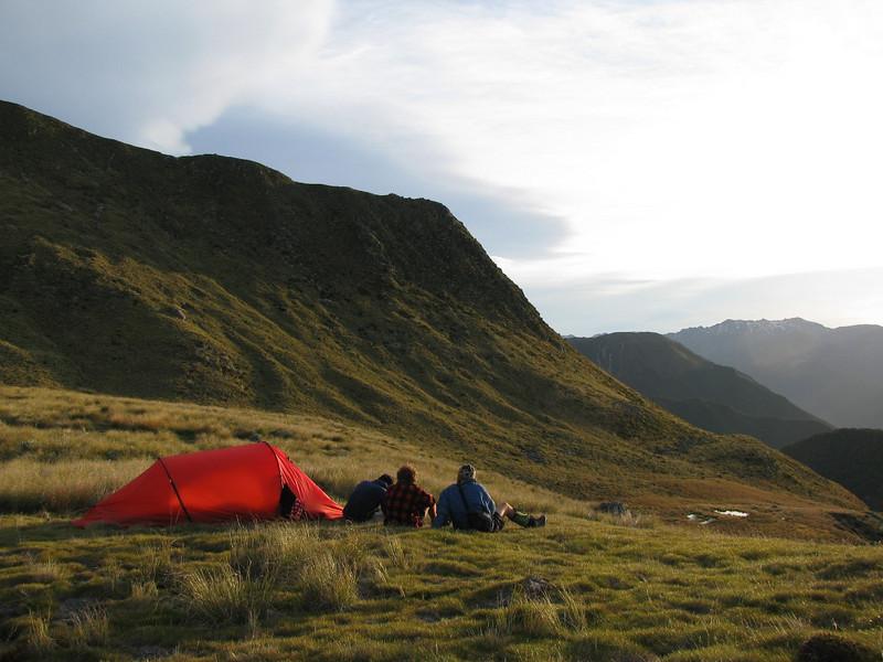 Ella Range campsite.