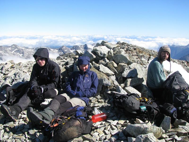 Summit of Mt Franklin.