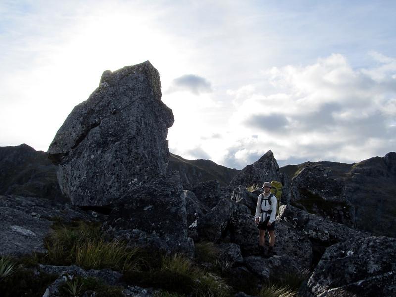 Nice granite jumbly rocks.