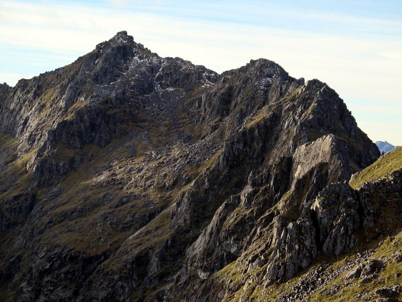 The south ridge of Ivess Peak.