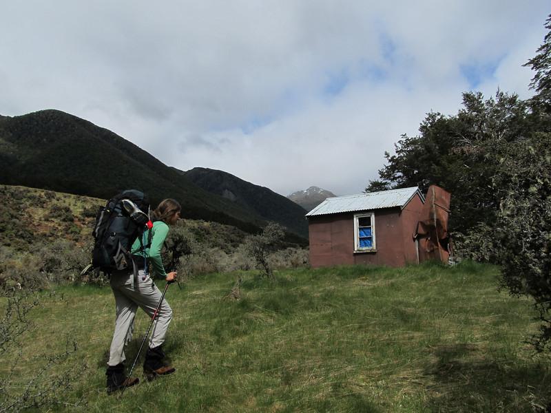 Reaching Doubtful Hut.