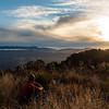 Sunset over Mt Curtis Hut