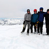 The team on the summit of Mt Dora.