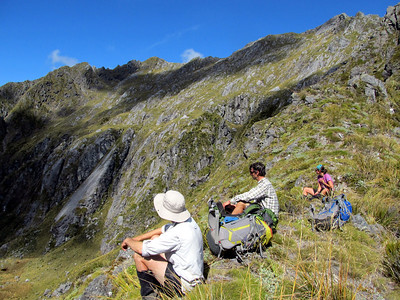 Mt Haast to Mt Kemp, 08-09 March 2014