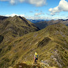 On the ridge west of Mt Haast.