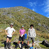 The team just below Mt Haast...
