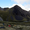 Camp at Gabriel Tarn.