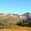 Mt Princess with the Princess Bath basin below from the road to Maling Pass.