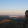 On the North Ridge of Mt Technical at sunrise