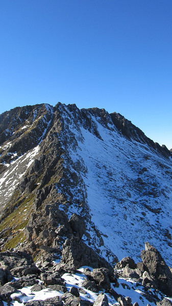 The West Ridge of Mt Technical.