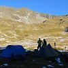 Camp in the head basin of Deer Valley.