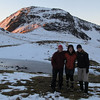 Camp in the head basin of Deer Valley.: Nina, Laurayne and Karen.