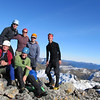 Team on the high point (unfortunately blurry thanks to self timer). Top from left to right: Karen, Nina, Ant, Adam. Bottom left to right: Charles, Anthony.