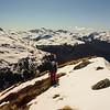 Along the Sylvia tops just above Devilskin Saddle (photo - James Thornton).