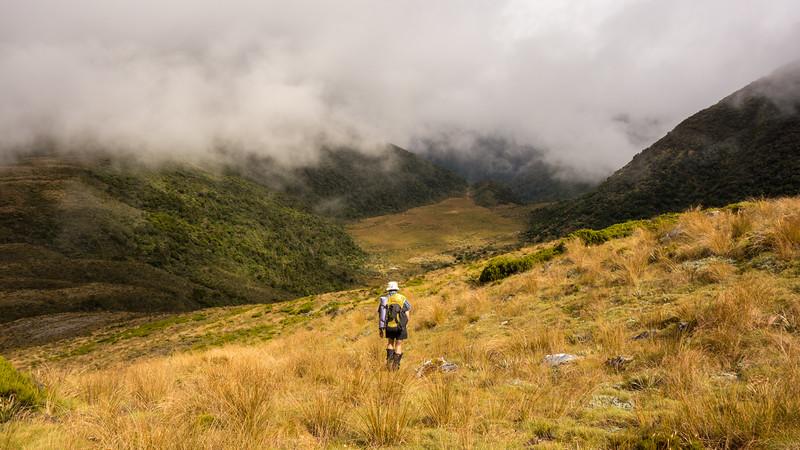 Descending to Rochfort Basin.