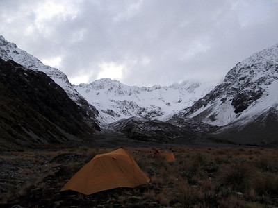 Hakatere Peak, 21-22 June 2014