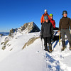 The team on the summit of Hakatere Peak.