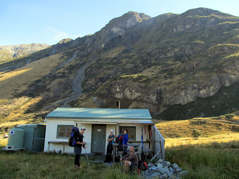 Black Mountain Hut.