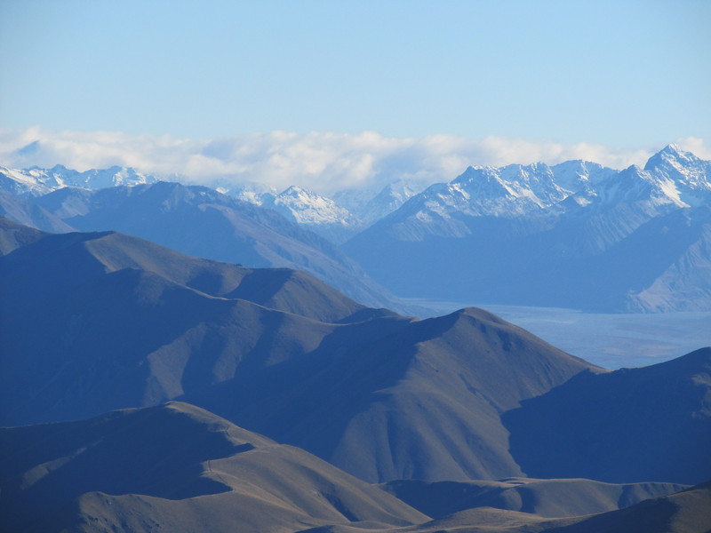 Havelock and Clyde river joining to from the Rangitata.