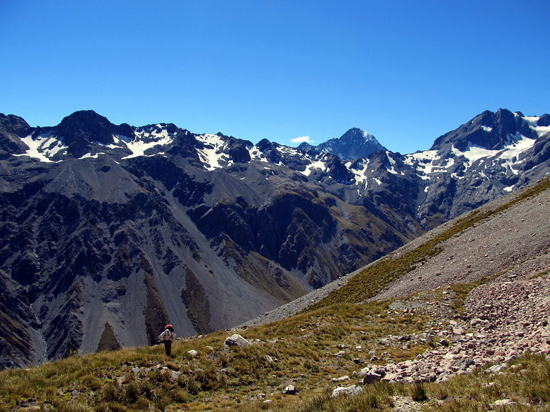 Gaining height towards our camp at 2000m.