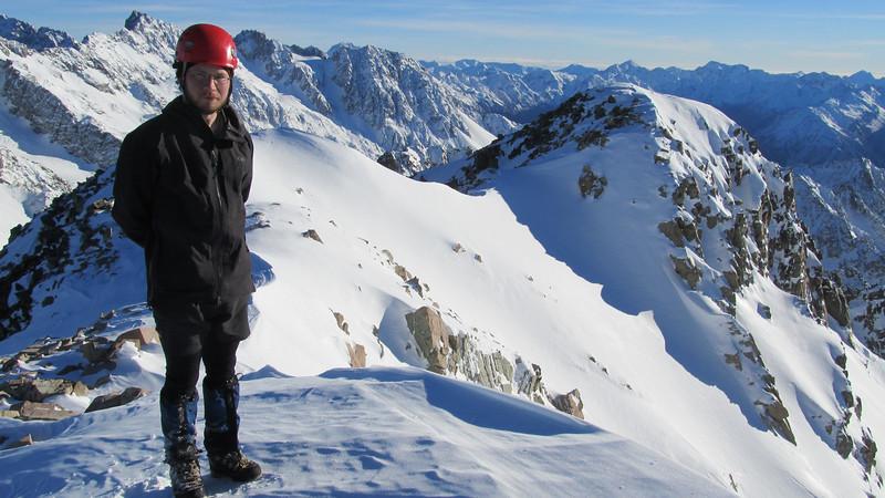 On the summit.