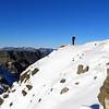 James on the summit of Turret Peak.
