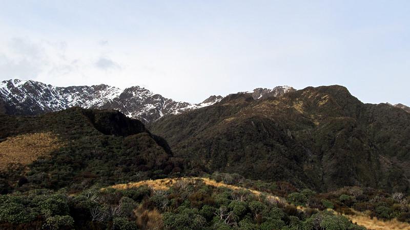 The ridge to Pinnacle Biv.
