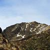 James en route to Genoa Peak (centre).
