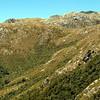 Buckland Peaks Hut below the Buckland Peaks.