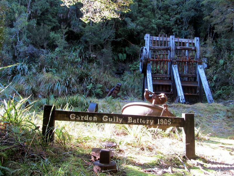 Garden Gully Battery.