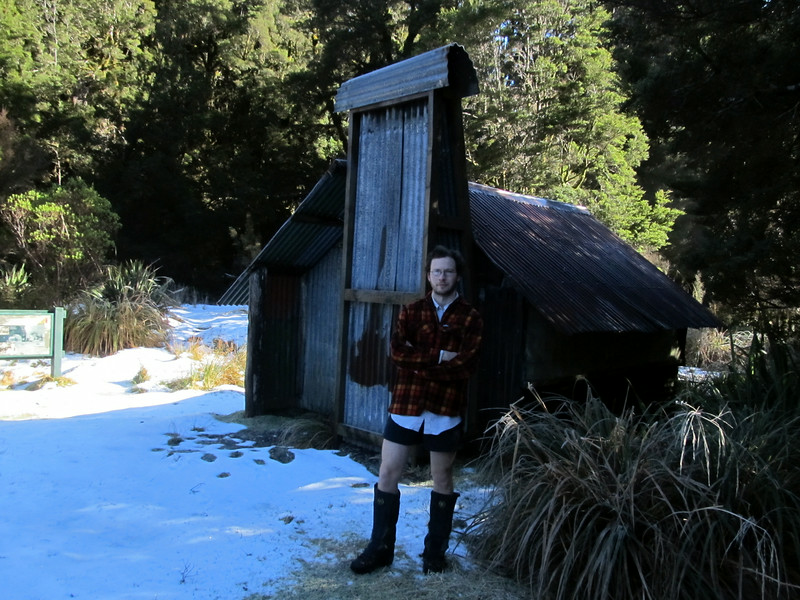 Historic Garden Gully Hut.