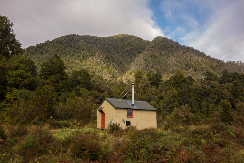 Mikonui Flat Hut.