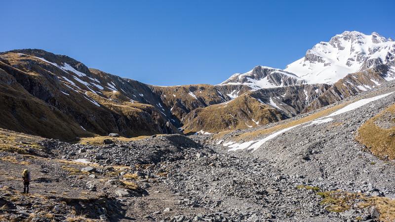 Mt Marion, Mathias Pass left of James.