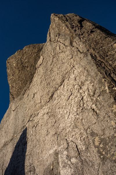 The bivvy rock.