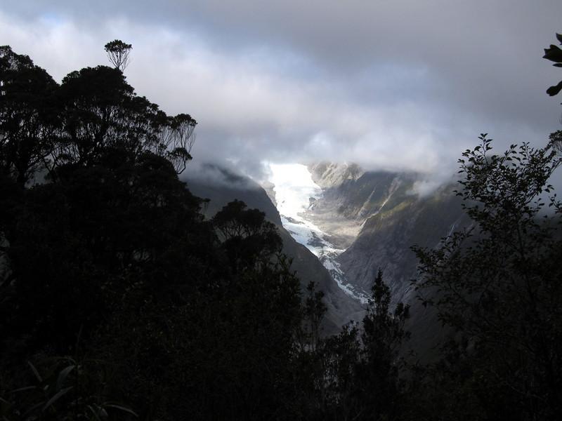 Franz Josef Glacier from the Alex Knob track.