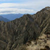 On the way to McAthur Crags, Mt Kerr behind.