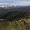 The Arahura Valley with Newton Range behind.