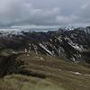 The ridge from Mt Kerr to Mt Olson. Tara Tama in the background.