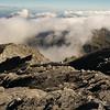 Nearing the summit of Mt Bowen (photo - James Thornton).