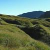 Climbing towards Galena Ridge (background).