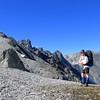 On Galena Ridge, Mt Beaumont behind.