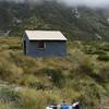 Top Tuke Hut a few hours later.